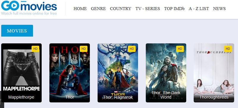 Gomovies Thor