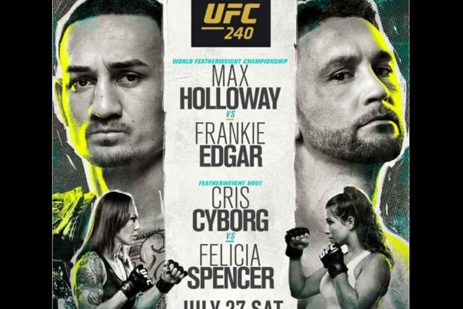 UFC 240 live online outside US and UK