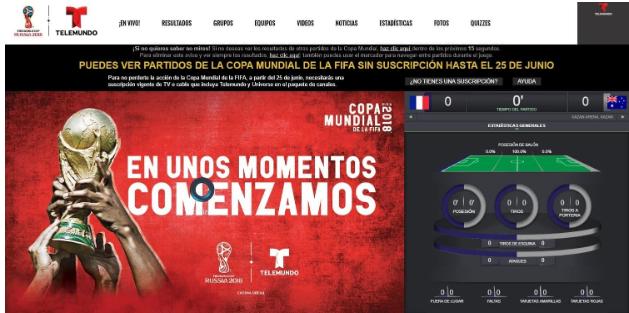 how to stream Telemundo outside US